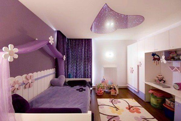 дизайн потолков в детской, дизайн детской комнаты, дизайн для детей,
