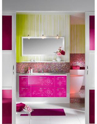 Яркие идеи для ванной