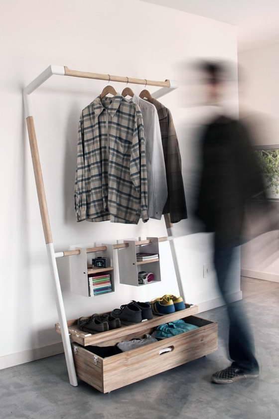 Минималистичный мобильный гардероб от бразильских дизайнеров