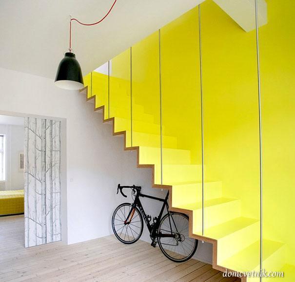 Лестницы на второй этаж. 22 необычных лестницы