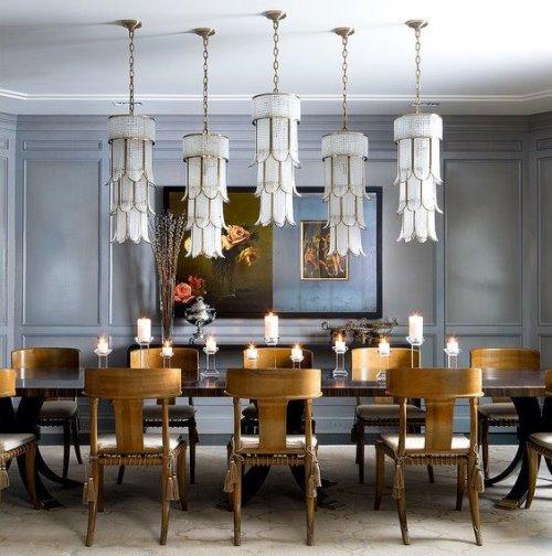 Необычные люстры для гостиной