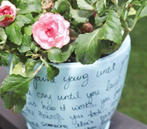 декорирование цветочных горшков своими руками, как украсить цветочный горшок