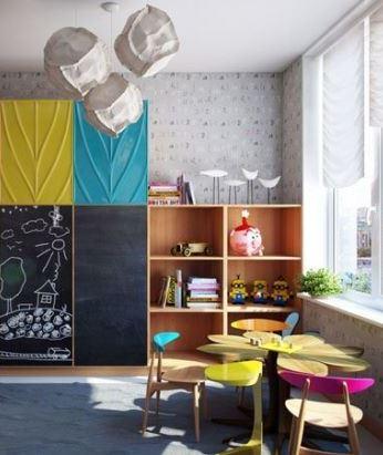 Красивые интерьеры детских комнат