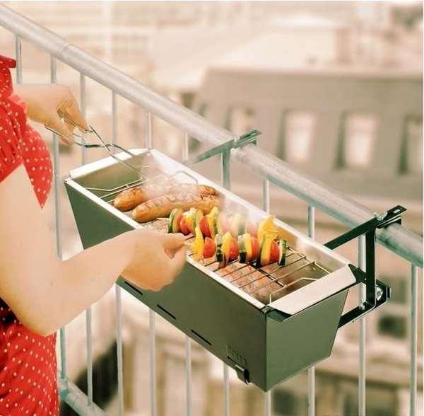 Современные грили для барбекю-вечеринки