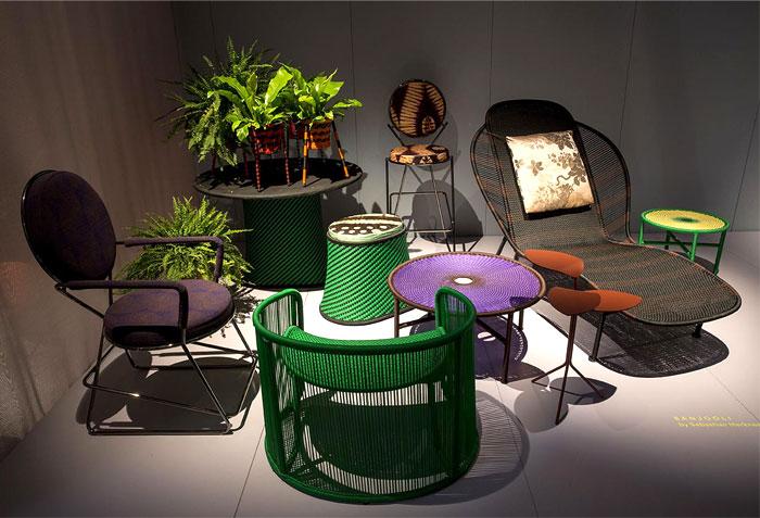 Экзотическая плетеная мебель от бренда Moroso
