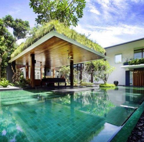 20 gazebo pool for Les plus belles renovations de maisons