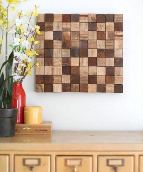 30 идей для дома из деревянных спилов