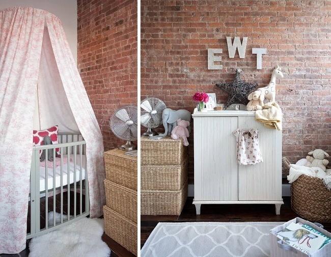 Интерьер детской комнаты в стиле лофт