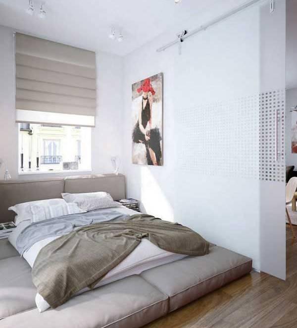 33 фотоидеи оборудования маленькой спальни