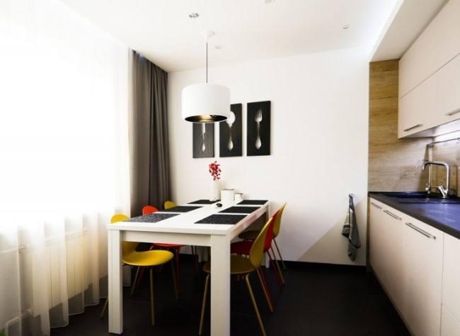 Стильная квартира в Киеве от YunakovDesign