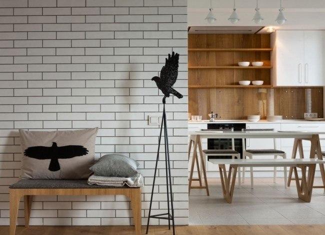 Квартира в стиле лофт от Елены Юдиной