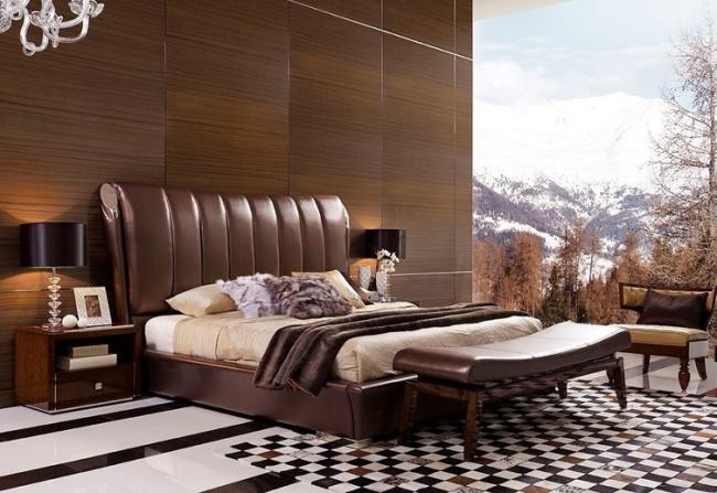 Удобная и красивая кровать. 20 интересных вариантов
