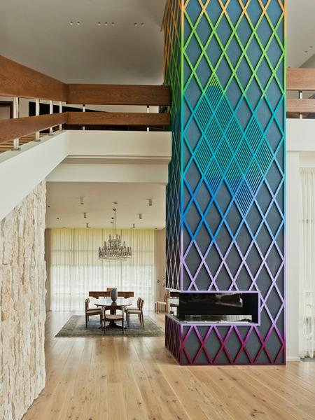 Красивые интерьеры: Дом-Питон под Москвой от PANACOM