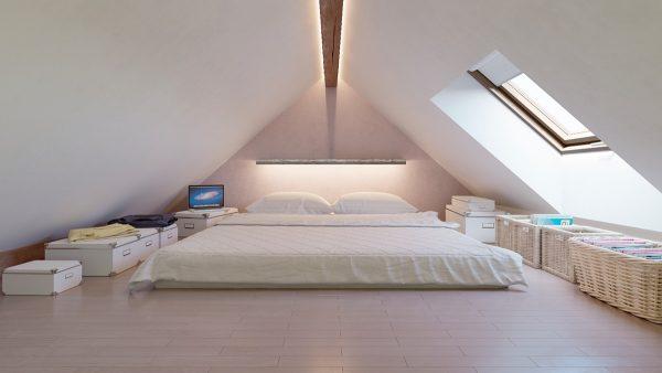 Спальня на мансарде. 20 удивительных проектов дизайна интерьера спальни на мансарде