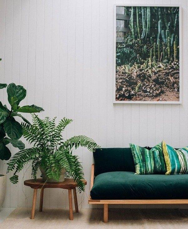 """Greenery"" идеи зеленого в интерьере 2017"
