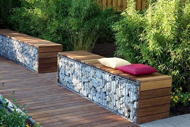 Габион - крутой способ приручить камни на даче