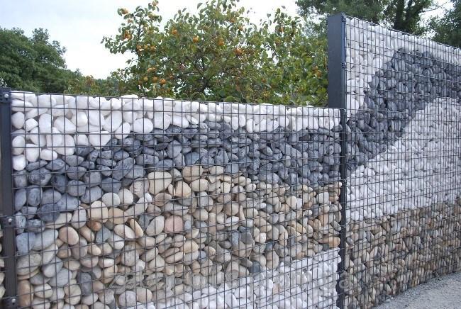 габион фото, как сделать габион из камней