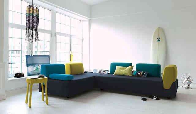 23 больших дивана для большой гостиной
