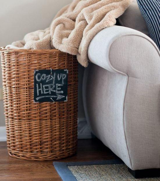 30+ идей плетеной мебели и аксессуаров для дома