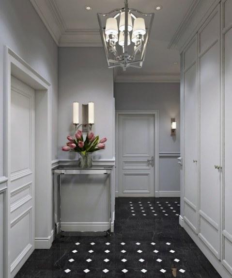 Красивый интерьер в версальском стиле