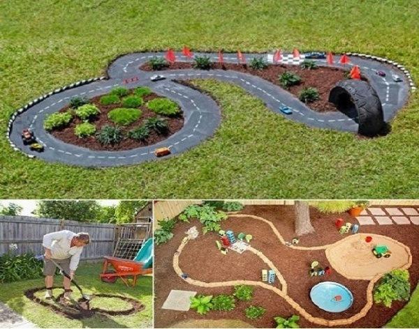 10 идей для детской площадки на даче