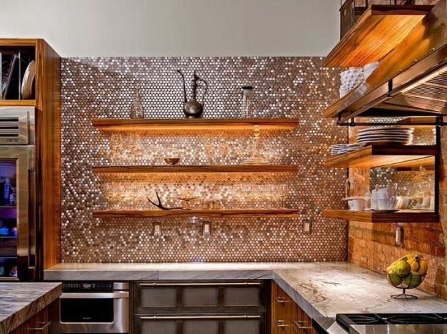10 вариантов декоративных панелей для кухни