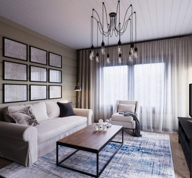 Проект дизайна для загородного дома от Ирины Масловой