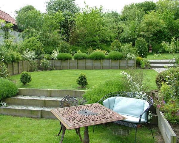 40 великолепных проектов организации террасного сада