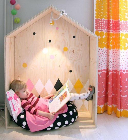 Игровой домик для детского чтения и игр