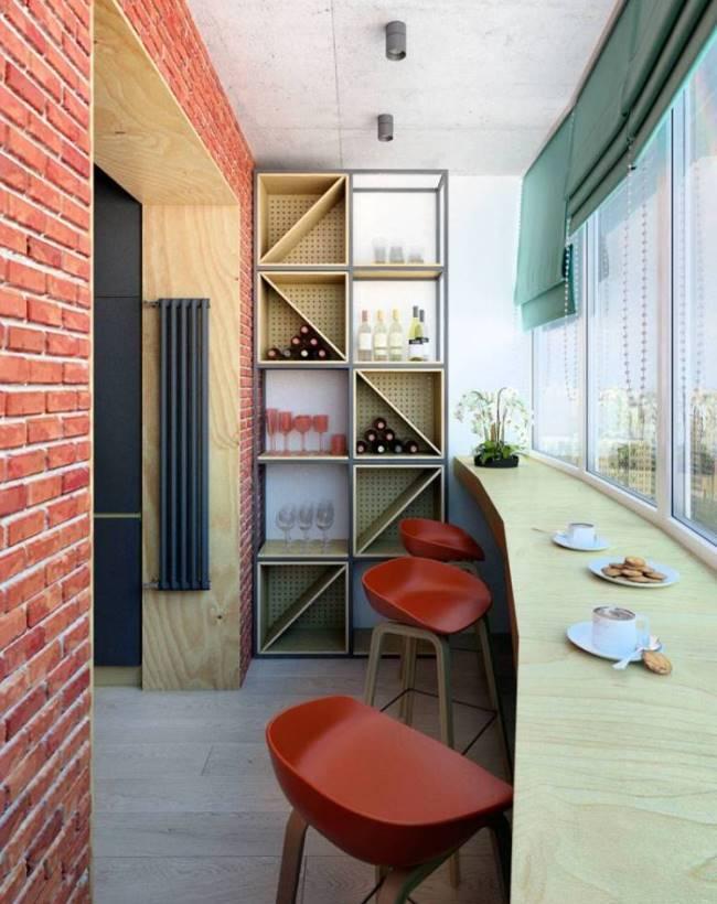 Как обустроить балкон. 17 идей