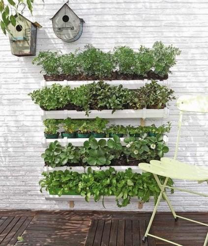 2 способа сделать вертикальный сад для растений