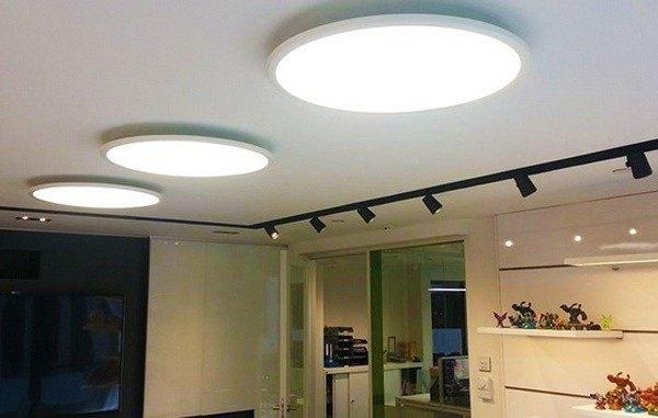 Новое слово в освещении: накладные LED светильники в интерьере