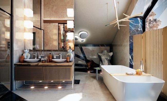 Современная интерпретация дома в стиле шале на Новой Риге