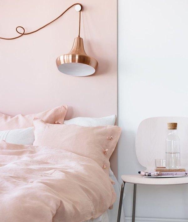 Вдохновляющие спальни в пастельных тонах. 28 красивых фото