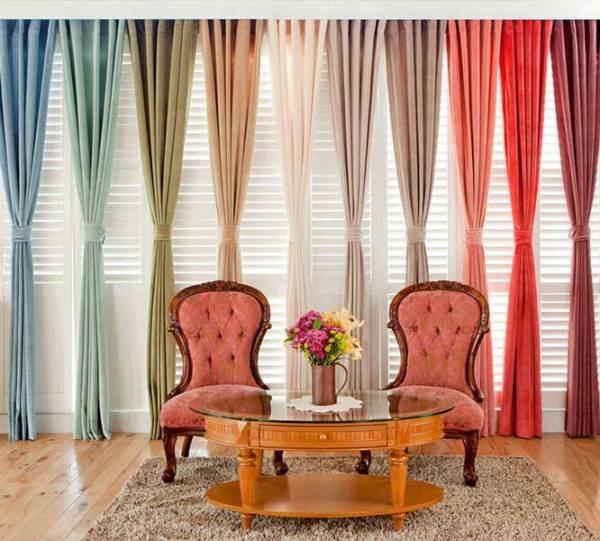 Яркие шторы. Как сделать интерьер сочным и жизнерадостным