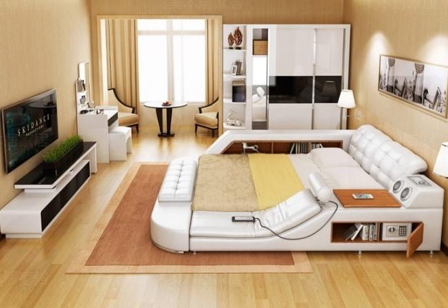 Многофункциональная кровать, которую вы не захотите покинуть