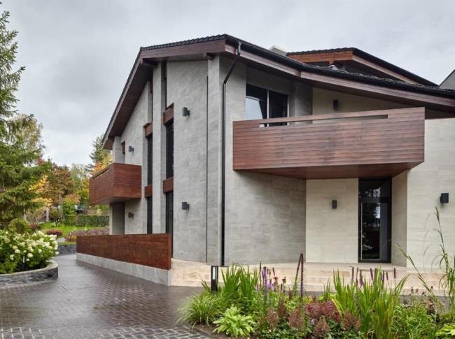 Дизайн загородного дома от бюро Александры Федоровой
