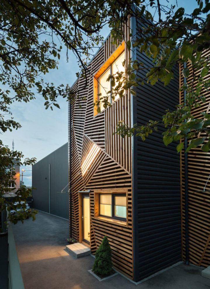 Террасный дом в Харькове от Pominchuk Architects