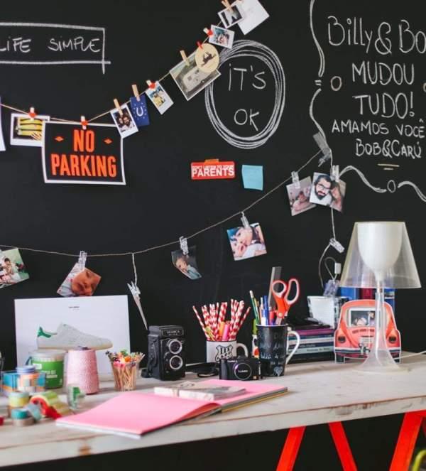 40 идей для домашней фотогалереи на прищепках
