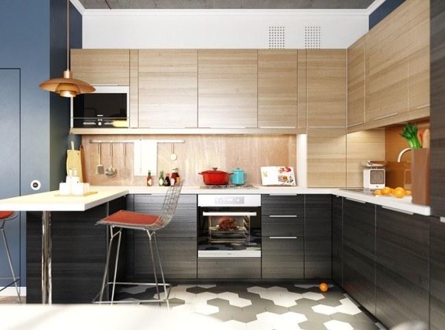 Дизайн двухуровневой квартиры в Нижнем Новгороде от Дмирия Тисногуза