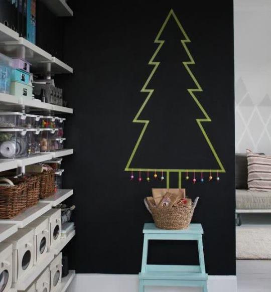 65 самых крутых идей новогоднего украшения дома