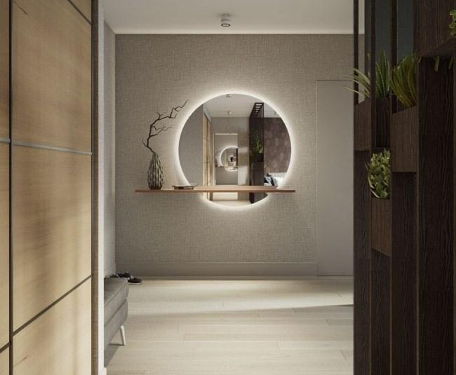 Стильный мужской интерьер квартиры в Москве от Buro108
