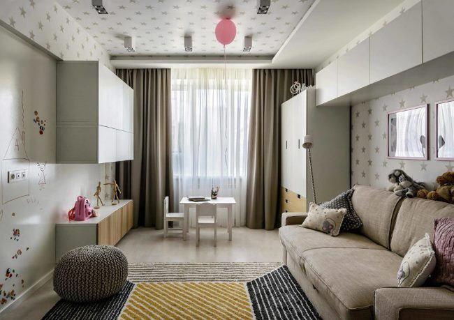 Стильная квартира в Новосибирске от ART-UGOL