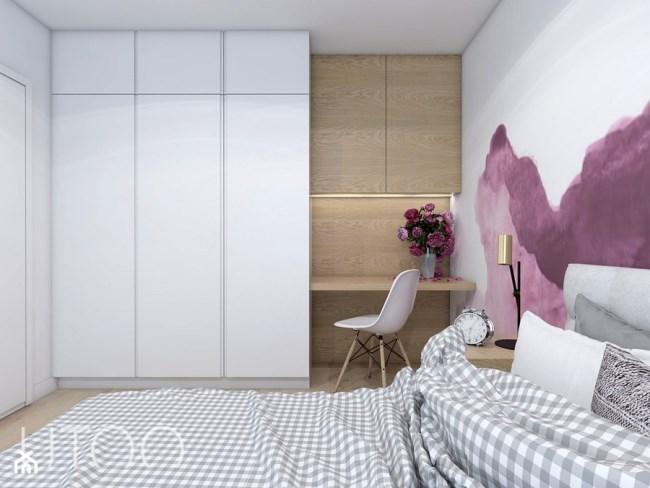 Акварельная квартира от польской студии UTOO