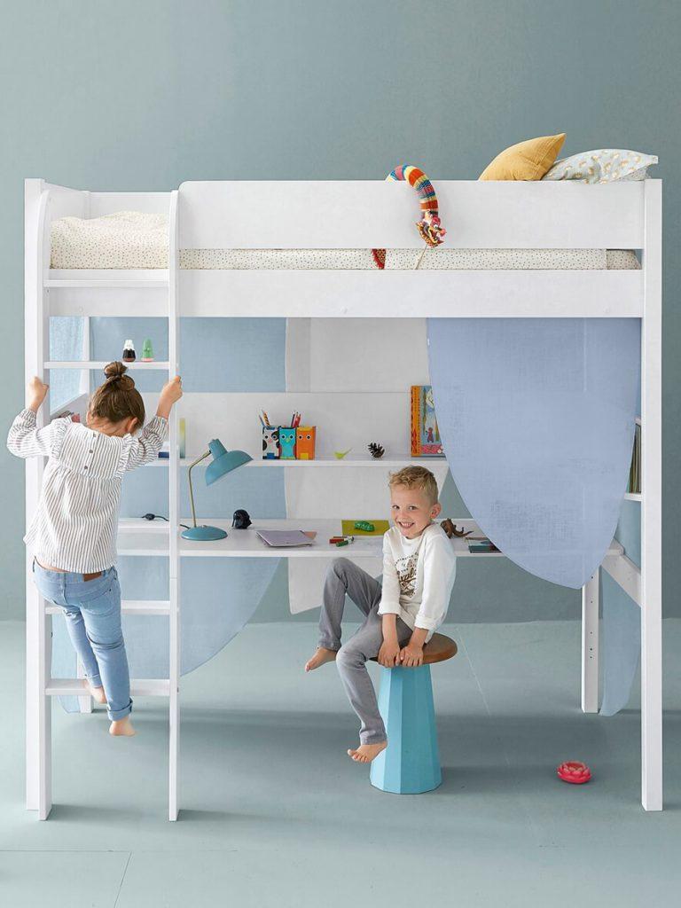 Plume - идея модульной детской кровати от Constance Guisset Studio