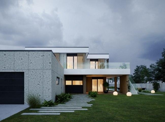25 потрясающих проектов ландшафтного дизайна для современных коттеджей