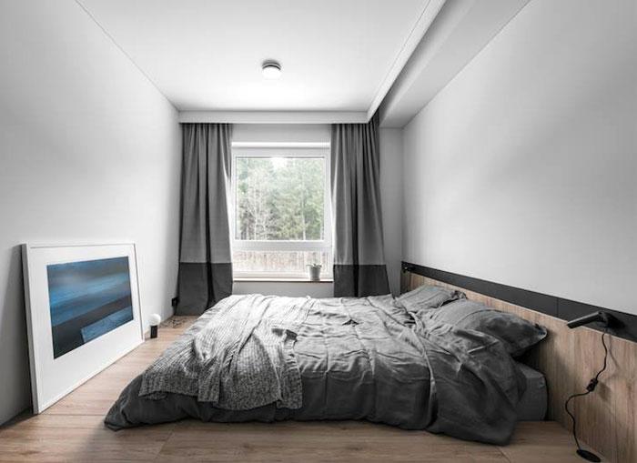 Минимализм и комфорт в маленькой квартире в Вильнюсе