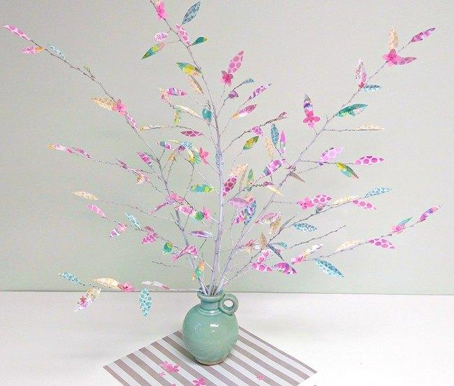 Весеннее деревце. Декор для дома своими руками