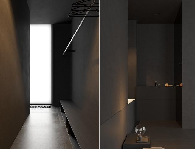 Абсолютно черный интерьер в исполнении Igor Sirotov Architect