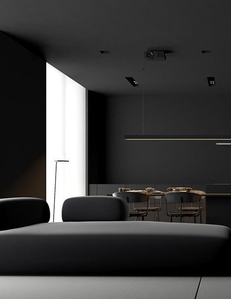 Абсолютно черный в исполнении Igor Sirotov Architect